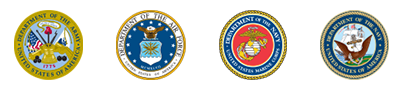 Armed services seals